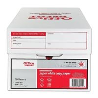 """536640 Part# 536640 Paper Copy 8.5x11"""" 10/Ca from Office Depot"""