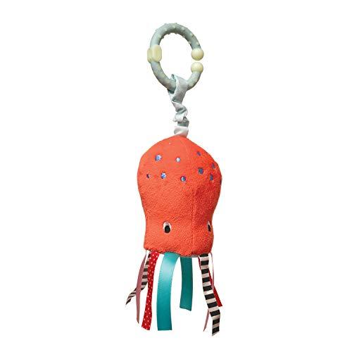 Manhattan Toy Under The Sea Octopus Rattle & Mirror Travel -