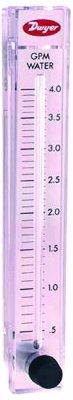"Dwyer Rate-Master Series RM Flowmeter, 10"" Scale, Range 0..."