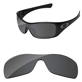 PapaViva Lenses for Oakley Antix OO9077 Black Size: Antix