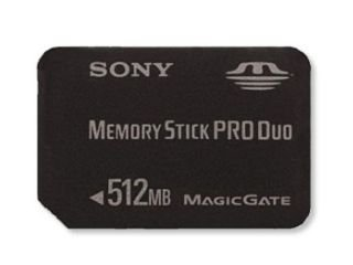 Sony - Flash memory card - 512 MB - MS PRO DUO