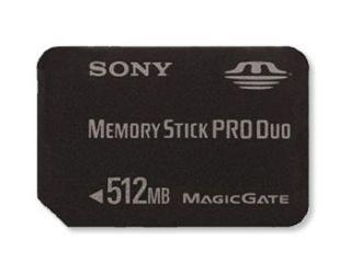 Sony Memory Stick Pro Duo - Tarjeta de Memoria para PSP (512 ...