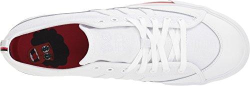 Adidas Men's Matchcourt RX Skate Shoe Footwear White/Core Black/Scarlet m3bapj7Wg9
