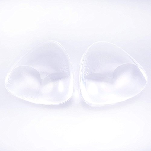 Silicone Breast Inserts - Waterproof Enhancers Bra Inserts A to C Cup for Swimsuits & Bikini by FJYQOP by FJYQOP (Image #3)