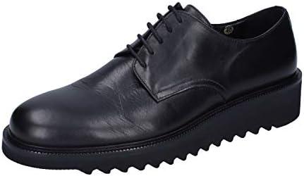 ROBERTO BOTTICELLI Elegante Schuhe Herren Leder schwarz
