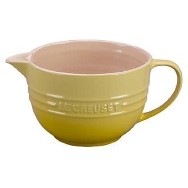 Le Creuset Stoneware 2-Quart Batter Bowl, Soleil