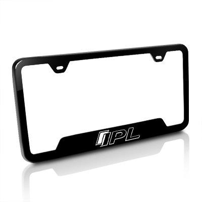 Amazon.com: Infiniti G37 IPL Black Steel Auto License Plate Frame ...