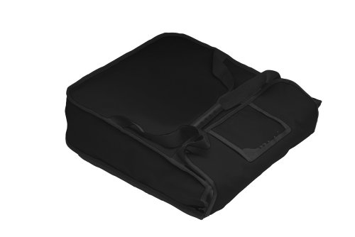RediHEAT HP112 Heated Pizza Delivery System, 18'' 2-Pie Bag, 19.5'' Length x 19.5'' Width x 5'' Height, Black by RediHEAT