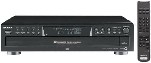 B00005I9RU Sony CDP-CE375 5-Disc Carousel-Style CD Changer (Discontinued by Manufacturer) 31Z81WVWT6L.