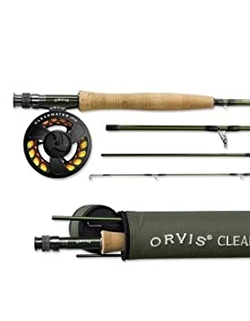 Orvis Clearwater 4-weight, 8 6 Fly Rod Outfit