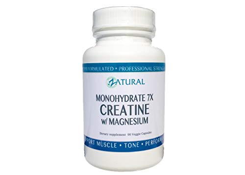 Creatine monohydrate Doctor Formulated with Magnesium and Proprietary Enzyme Blend 90 Count