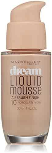 Maybelline New York Dream Liquid Mousse Foundation, Porcelain Ivory Light, 1 Fluid Ounce