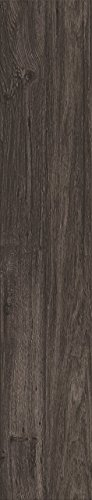 d'phlor 99919 Vinyl Planks Press-In-Place Flooring, Weathered Charcoal
