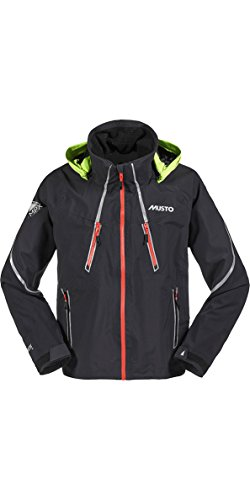 Musto 2016 MPX Race Lite Jacket in Black SM0023 Sizes- - ExtraLarge (Mpx Race Musto)