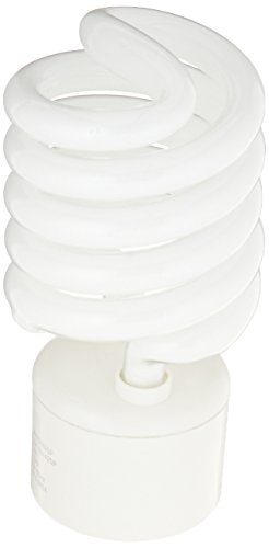 - TCP 150 Watt Equivalent Single-pack, Spiral GU24 Base CFL Light Bulb, Non-Dimmable, Soft White 33142SP