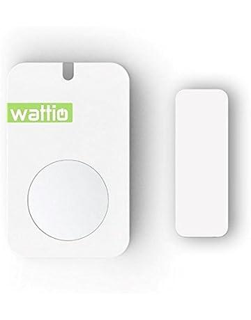 Wattio Sensor Door-Detector de Apertura de Puertas y Ventanas, Blanco