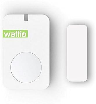 Wattio Door-Detector de Apertura de Puertas y Ventanas, Blanco
