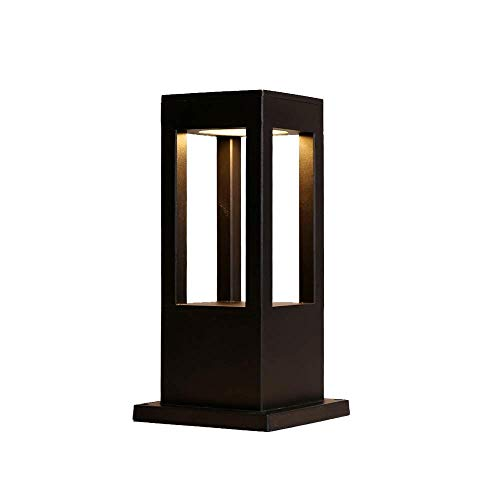 XAJGW LED Column Head Lamp IP55 Waterproof Outdoor Column Lamp Modern Minimalist Post Lamp Lawn Garden Landscape Lamp Garden Villa Outdoor Chinese Floor Lamp Pillar Lantern (Size : - Light Column Outdoor