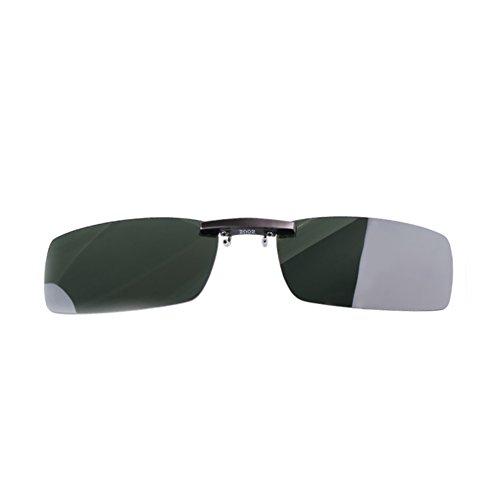 de A conduite polarisant Lunettes Clip lunettes soleil de Clip pêche 4Ww15qHzZ7