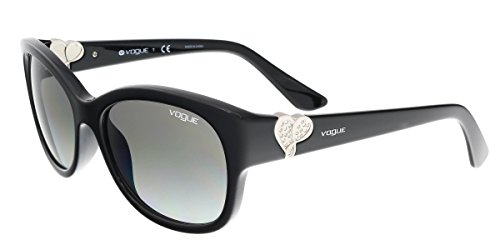 VOGUE Women's Injected Woman 0vo5034sb Rectangular Sunglasses, Black, 56 - Sunglasses Vogue