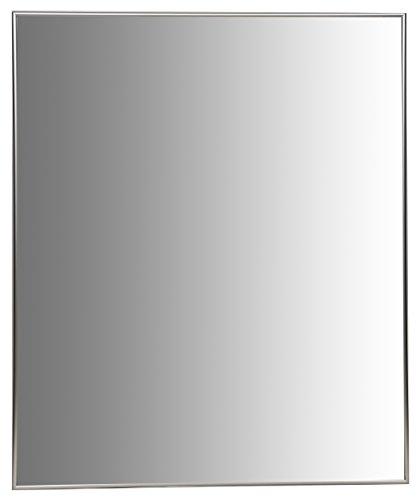 Nielsen Bainbridge 30x36 Rectangular Aluminum Wall Mirror   Vanity Mirror, Bedroom or Bathroom   Hangs Horizontal or Vertical   (Metal Frame Rectangular Mirror)