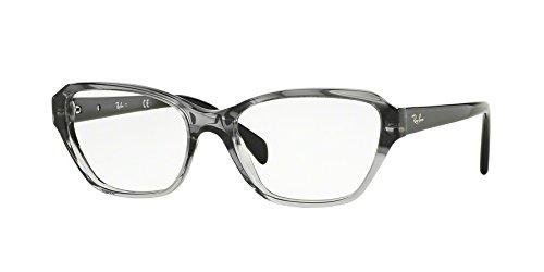 Ray-Ban Women's RX5341 Eyeglasses Gradient Striped Grey - Ray Ban Eyeglasses For Women
