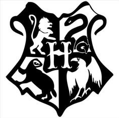 Harry Potter Inspired Hogwarts Crest  Vinyl Decal Sticker|BL