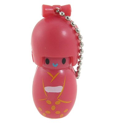 UPC 610256256511, Red Plastic Japanese Kokeshi Doll Style Nail File Clipper Trimmer