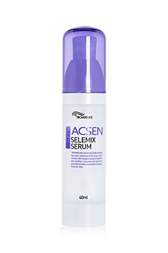[TROIAREUKE] ACSEN Selemix Serum 40ml (1.35fl.oz.) - Korean Facial Calming Rejuvenating Anti Aging Recovery Treatment for Oily Acne Sensitive Skin