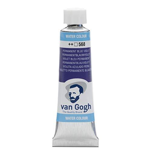 (Van Gogh Watercolor Paint, 10ml Tube, Permanent Blue Violet 568)