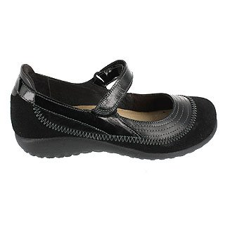 Le Scarpe Da Donna Kirei Mary Jane Flat Black