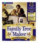 Family Tree Maker Deluxe 5.0 (4 CD Set)