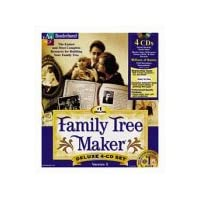 Family Tree Maker Deluxe 5.0 (4 CD Set)