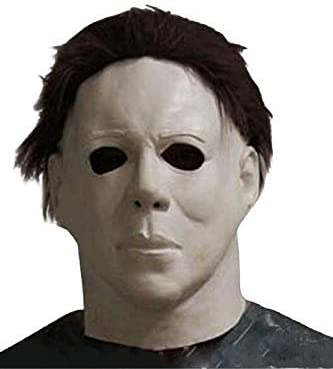 Amazon.com: COSMOVIE Horror Halloween Michael Myers Scary Cosplay Mask: Clothing