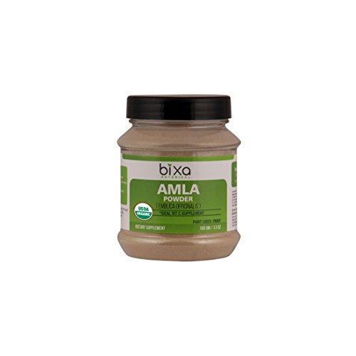 Organic Amla Powder 100g (3.5 Oz), USDA Certified (Emblica Officinalis) – Idea Vitamin C Supplement | Powder Anti-Oxidant Herbal Supplement | Re-Energise Generally Weak Body | Immunity Booster For Sale