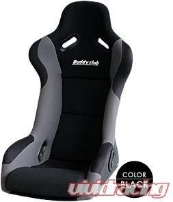 Buddy Club bc08-rsbksr-b Racing Spec negro Regular asiento de cubeta