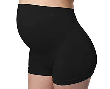 Mabel Maternity Maternity Boyshort Soft Comfortable High Waist Underwear Pregnancy Support Shapewear Shorts