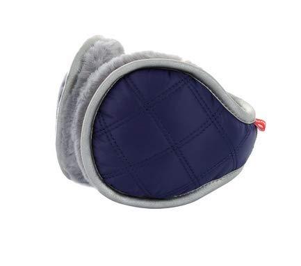 ihreesy Unisex Classic Waterproof Down Fabric Fleece Lined Warm Earmuffs Winter Accessory Outdoor Earmuffs - Cyan