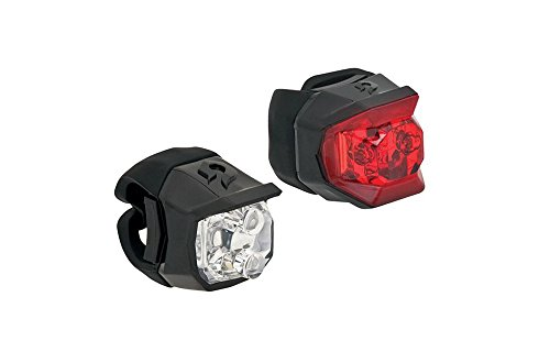 - Blackburn Voyager Click Headlight and Mars Click Tail Light Combo, Black