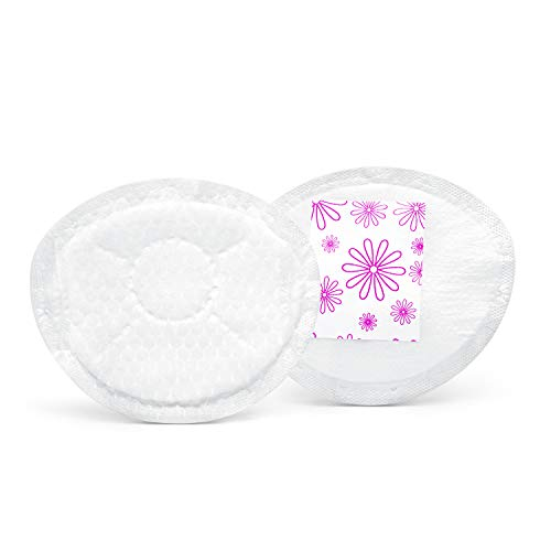 Medela Safe & Dry Ultra Thin Disposable Nursing Pads for Breastfeeding with Night Time and Overnight Breast Leakage Protection Discreet Pad, 120 Count