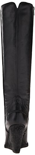 Frye mujeres de CECE costura Tall Boot Black-73888