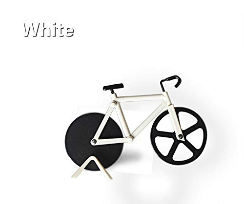 1 piece 1pc Stainless Steel Creative Bicycle Shape Pizza Cutter Bike Style Disc Cake Pastry Knife Cutters Baking Tool Kitchen Supplies