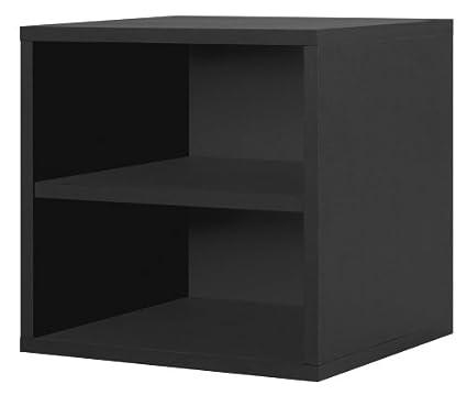 Foremost 327306 Modular Shelf Cube Storage System, Black