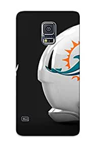 New Arrival Case Specially Design For Galaxy S5 (miami Dolphins Nfl Footballeq )