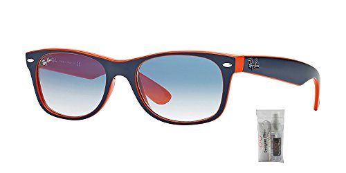 Rb2132 Ban orange Blue New crystal Ray Gradient Light Wayfarer Blue FqZwT5x4