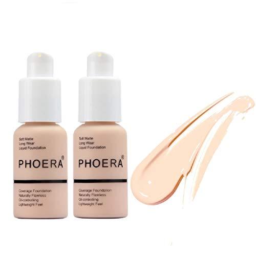 Phoera Long Lasting Waterproof Matte Liquid Foundation