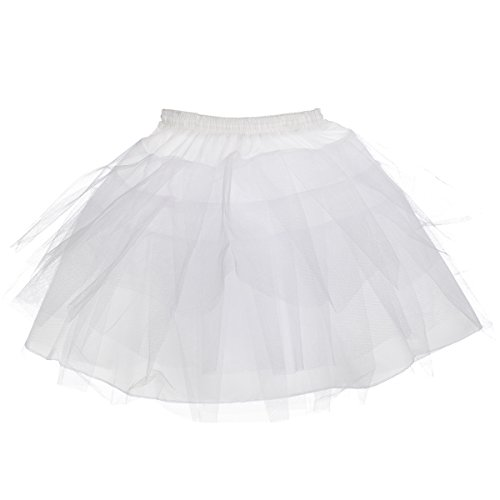 AW Girls Tulle Petticoat Hoopless Kids Soft Half