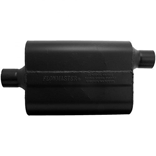 Flowmaster 942447 Super 44 Muffler - 2.25 Center IN / 2.25 Offset OUT - Aggressive Sound