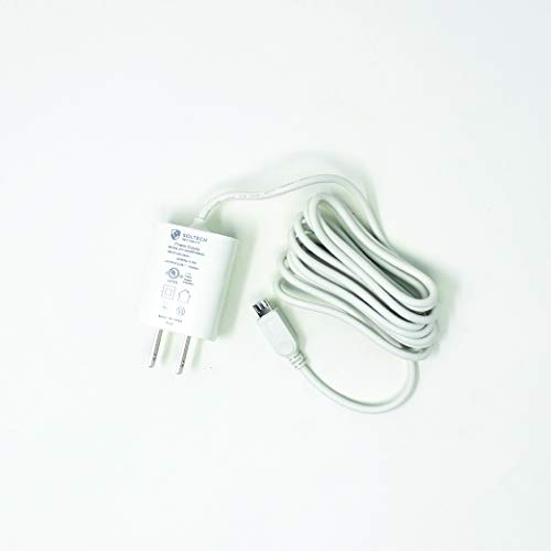 Price comparison product image Soltech STA-APB15C1 MicroUSB Power Adapter 5V 1.5A for Samsung Baby Monitors SEW-3043 SEW-3053 SEW-3055 SEW-3057 6 ft Cable