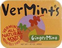 Vermints All Natural Breath Mints GingerMint -- 1.41 ()